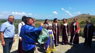 Tradiții și obiceiuri la Enisala. FOTO Paul Alexe