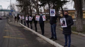Protest al proprietarilor de restaurante, cafenele, baruri și saloane de evenimente din Constanța. FOTO RESTO Constanța