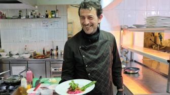 Daniel Zinke, Executive Chef - Green Village Resort. FOTO Adrian Boioglu