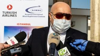 Directorul general al Aeroportului Mihail Kogălniceanu Constanța. FOTO Paul Alexe