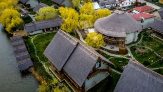 Green Village Resort din Delta Dunării. FOTO Paul Alexe