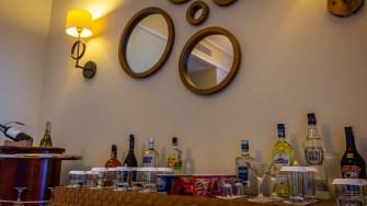 Bar din vila privată Xanadu. FOTO Paul Alexe