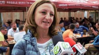 Daniela Cîmpean, președintele Consiliului Județean Sibiu. FOTO Paul Alexe