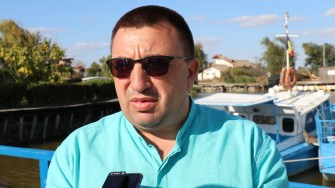 Eugen Ion, primarul comunei Jurilovca. FOTO Adrian Boioglu