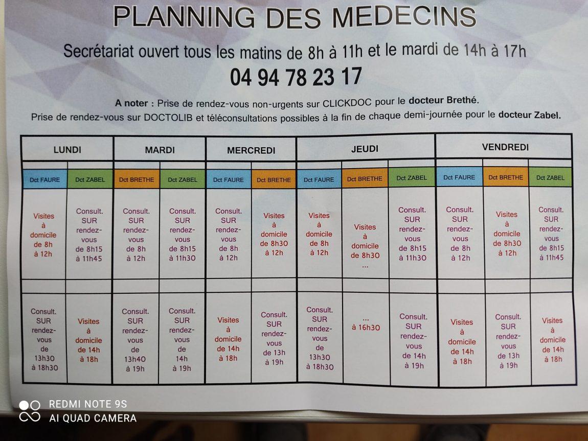 planning-medecins