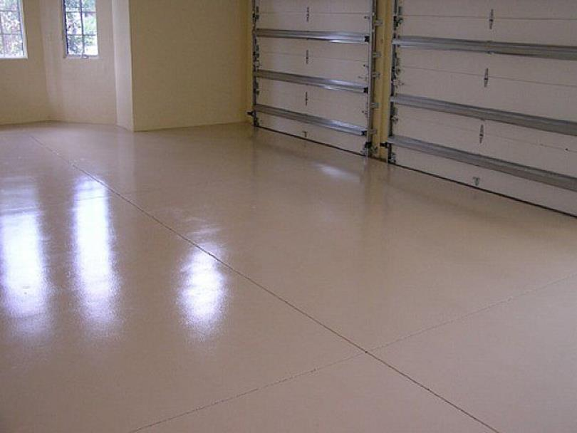 Basement Concrete Floor Paint Color Ideas 1