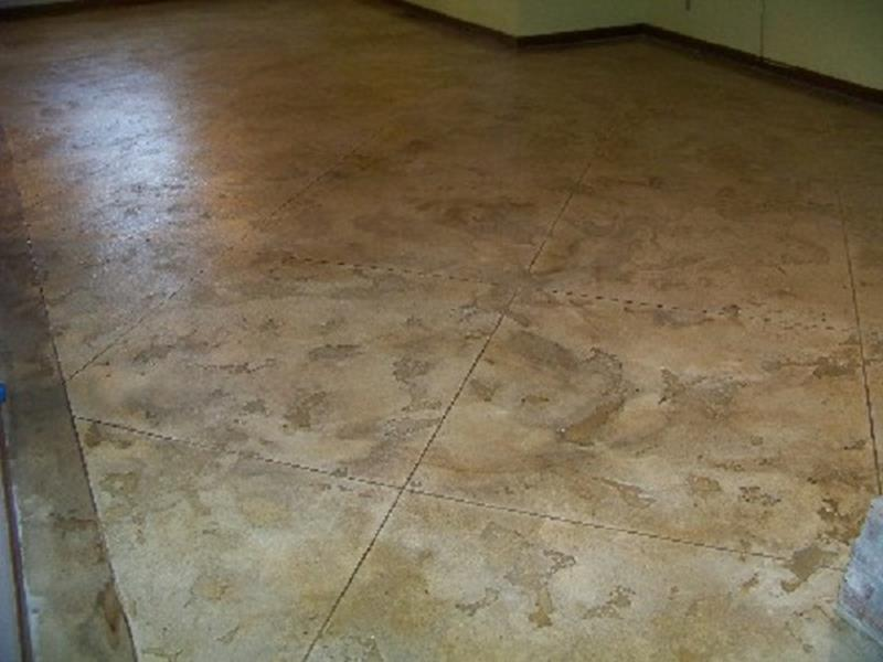 Basement Concrete Floor Paint Color Ideas 16