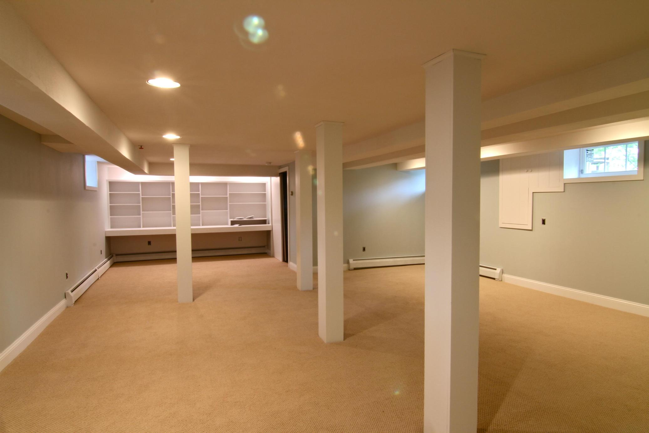 Basement Concrete Floor Paint Color Ideas 19