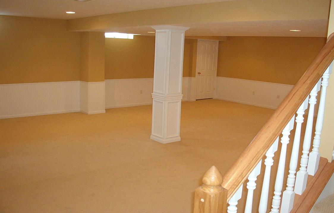 Basement Concrete Floor Paint Color Ideas 29