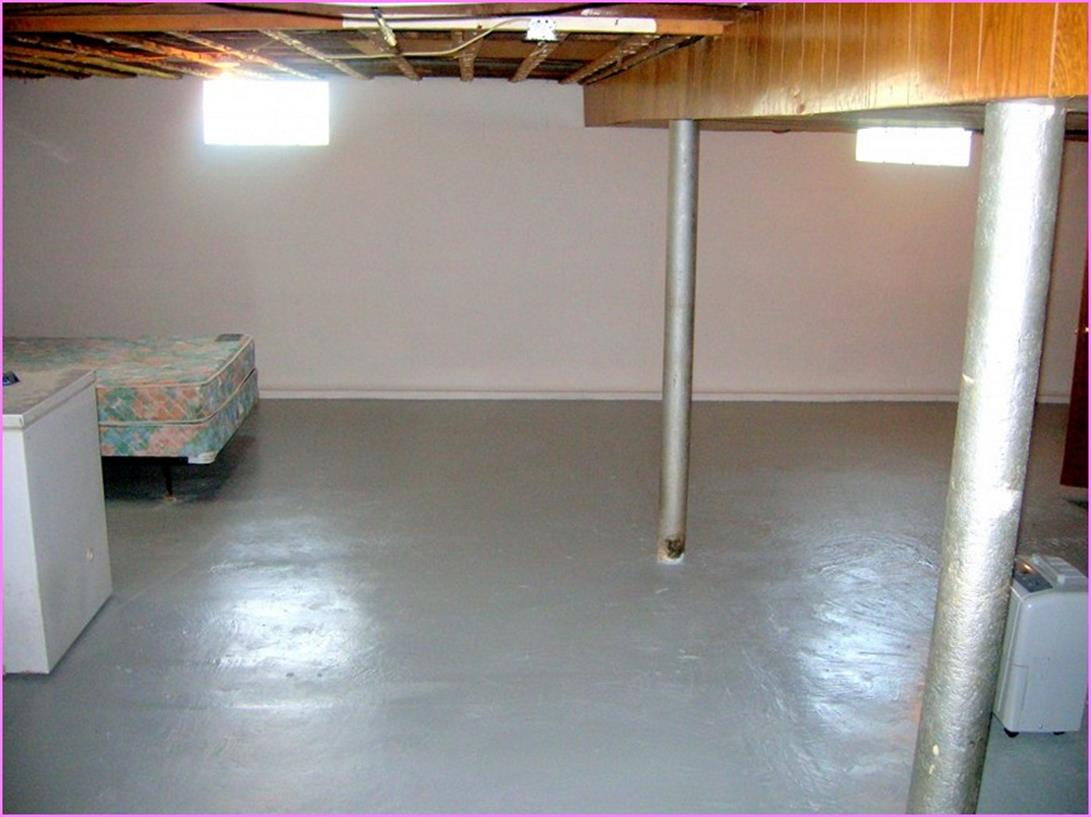 Basement Concrete Floor Paint Color Ideas 3