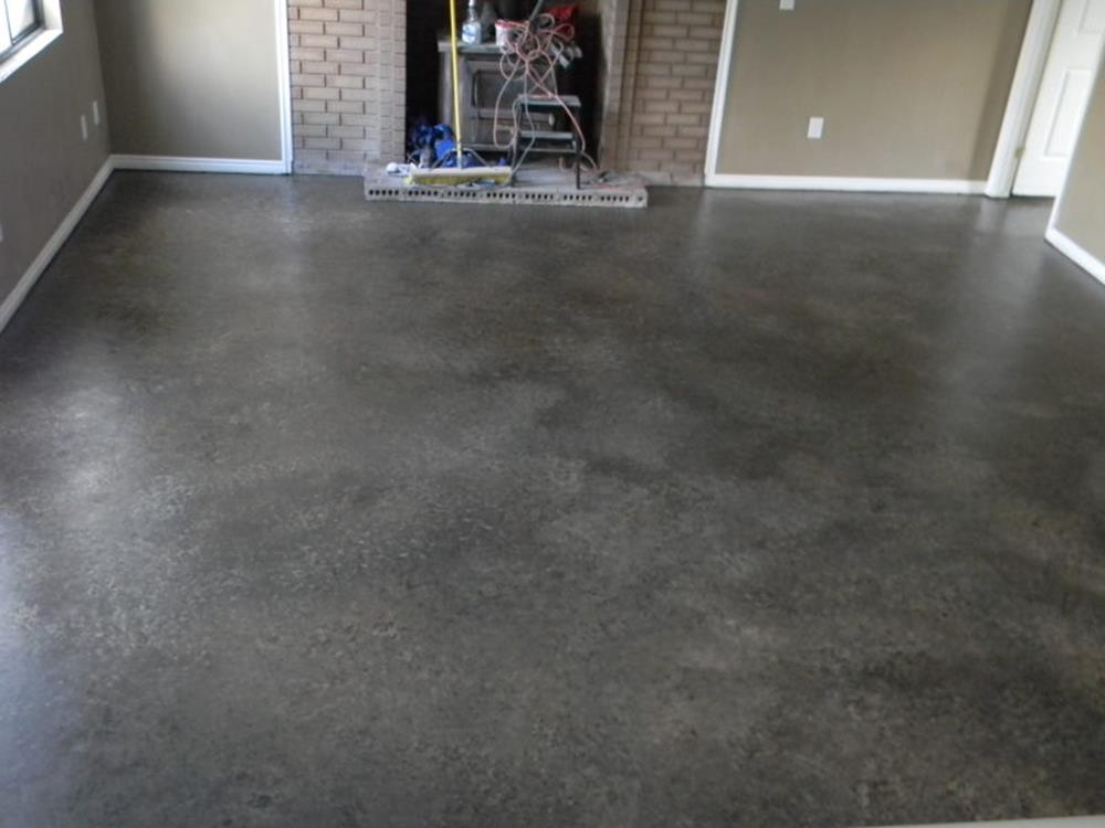 Basement Concrete Floor Paint Color Ideas 7