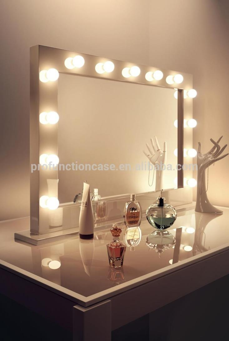 Bedroom Vanity Set With Lights Around Mirror 22