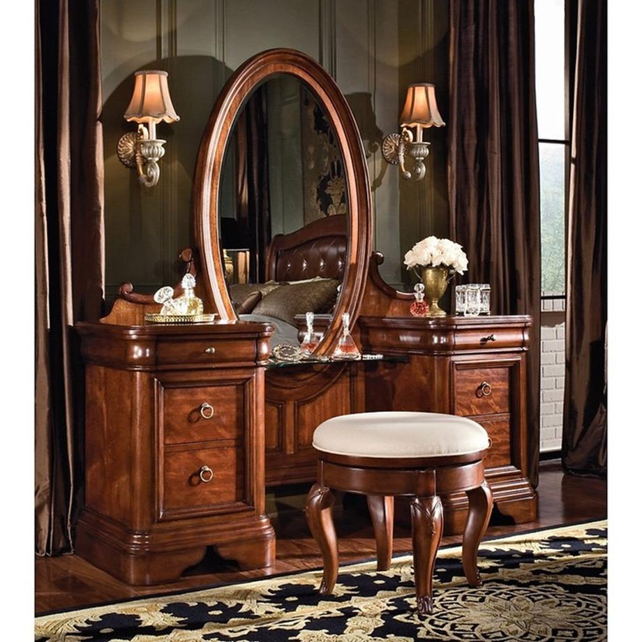 Bedroom Vanity Set With Lights Around Mirror 34