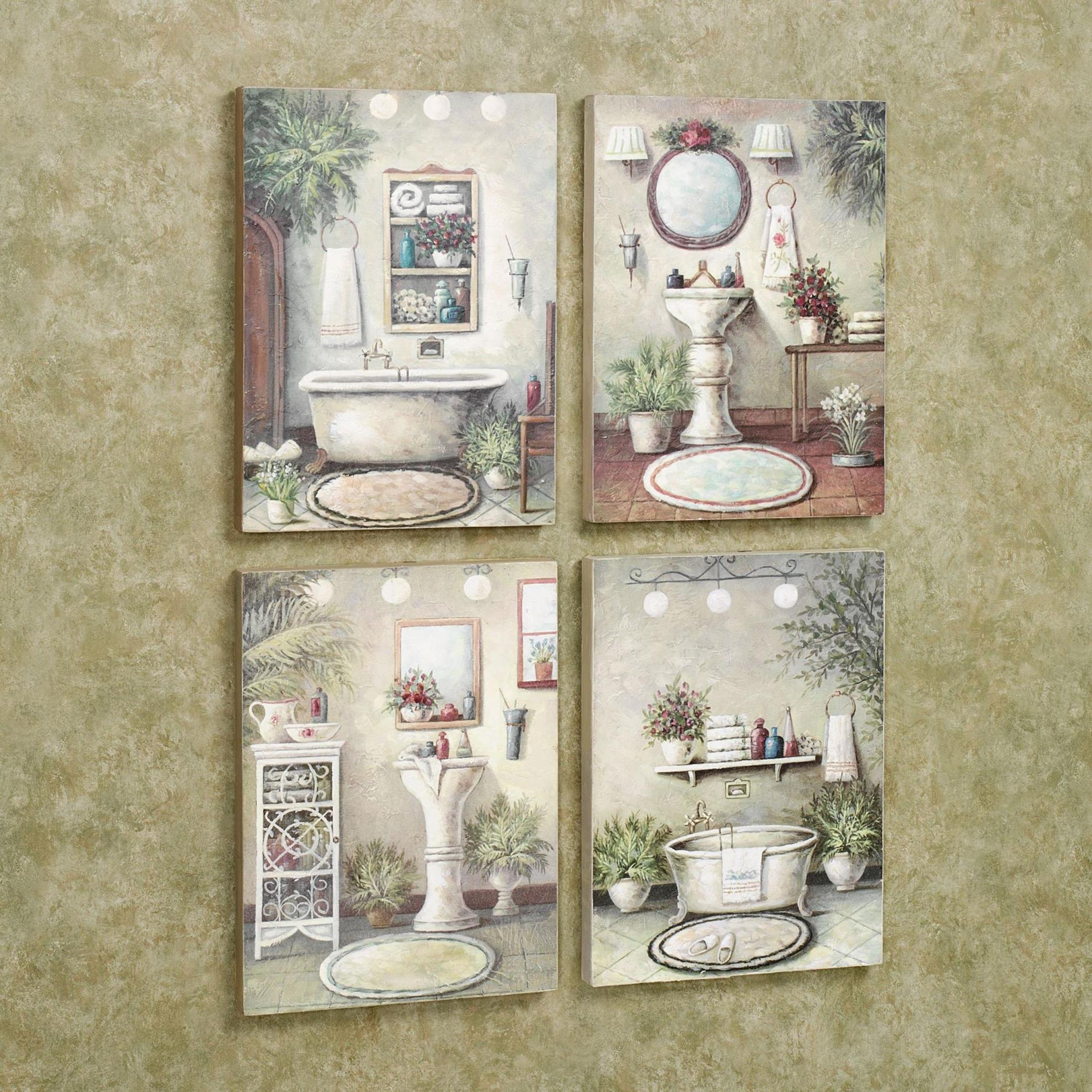 Best Bathroom Art Ideas For Your Sweet Bathroom 24