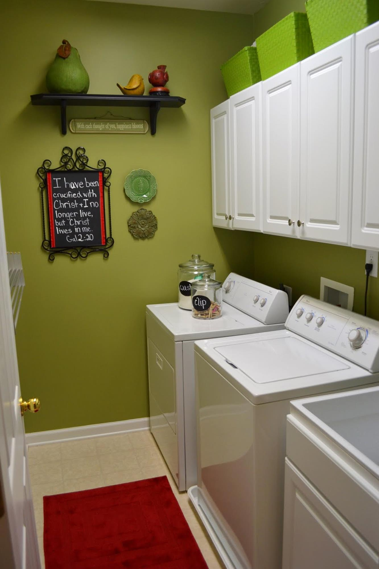 best paint color for small laundry room 15 gongetech on paint for laundry room floor ideas images id=16625