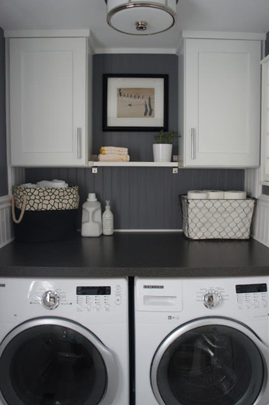 Best Paint Color For Small Laundry Room 21