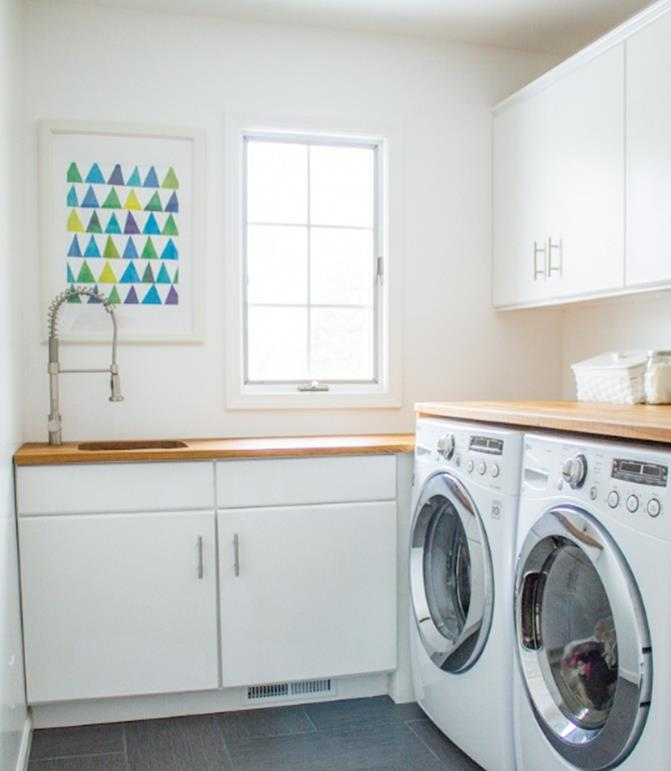 Best Paint Color For Small Laundry Room 38
