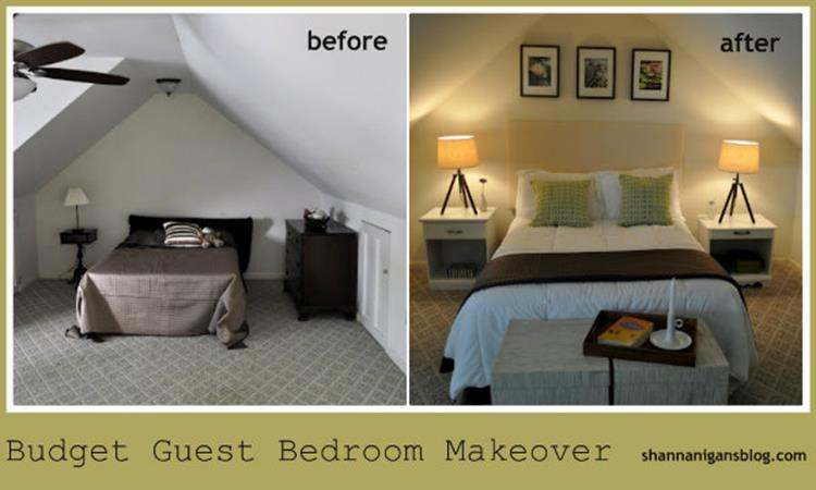 DIY Small Bedroom Makeover On a Budget 16