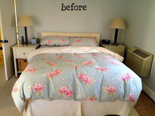 DIY Small Bedroom Makeover On a Budget 17
