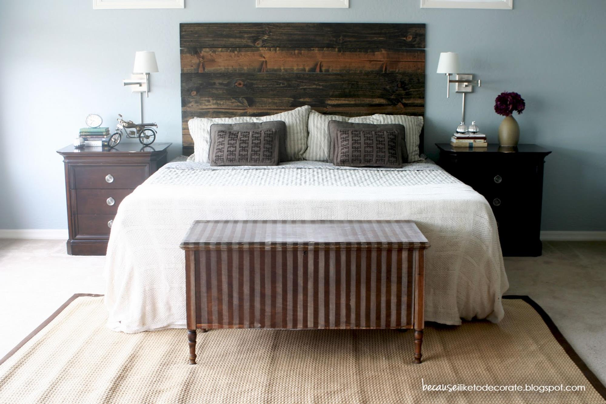 DIY Small Bedroom Makeover On a Budget 22