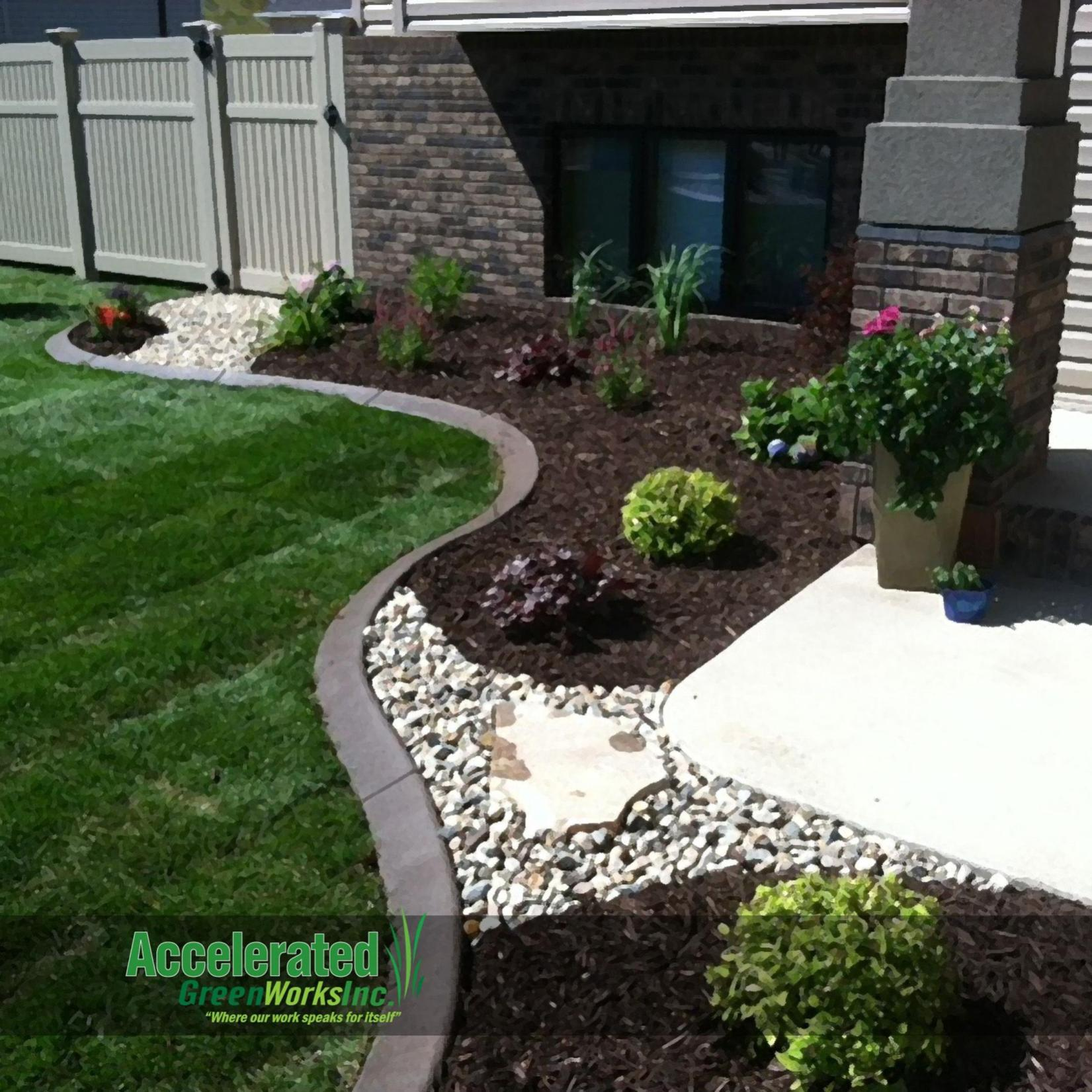 Landscaping Ideas With Rocks And Mulch 22