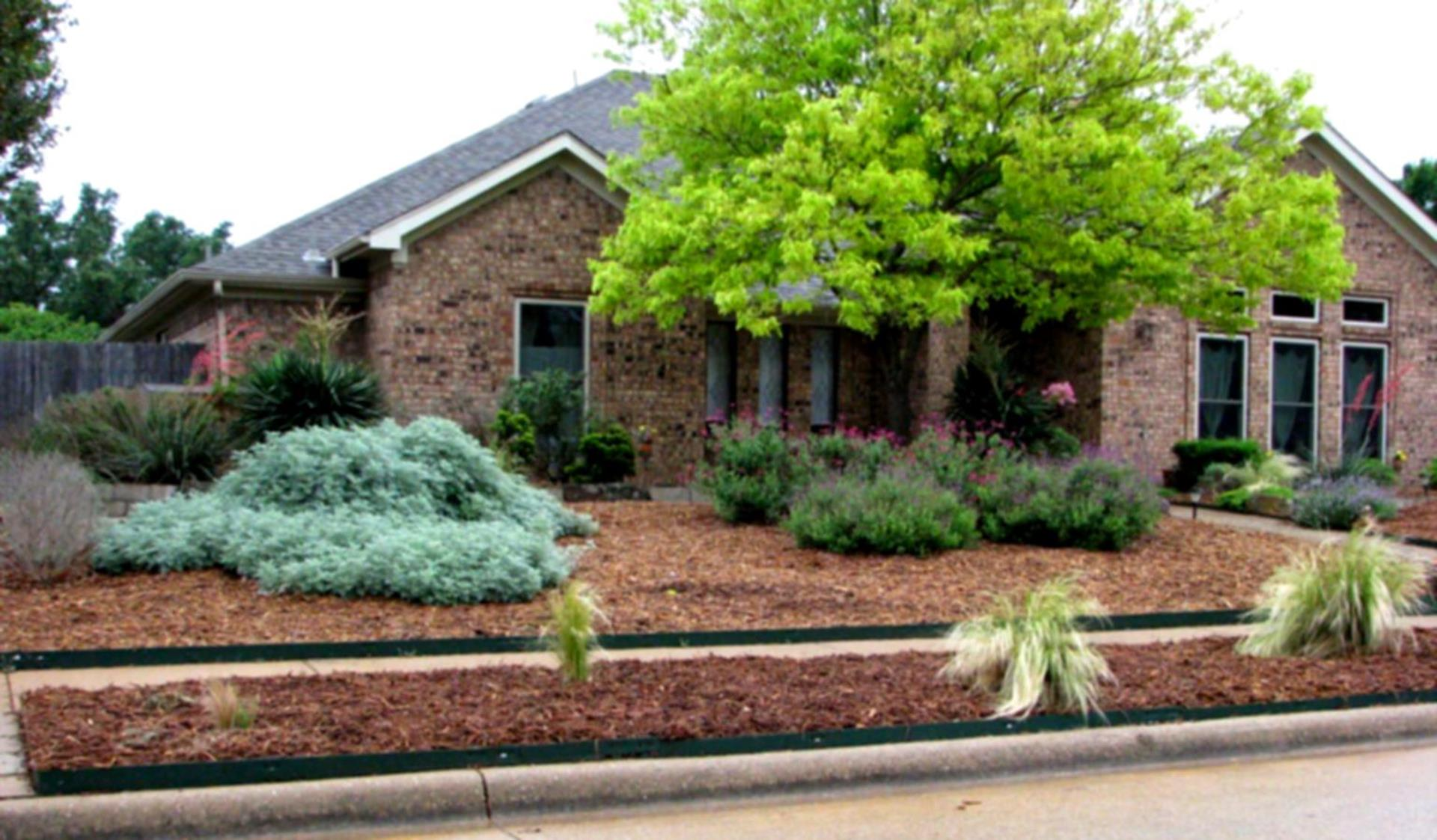 Landscaping Ideas With Rocks And Mulch 4