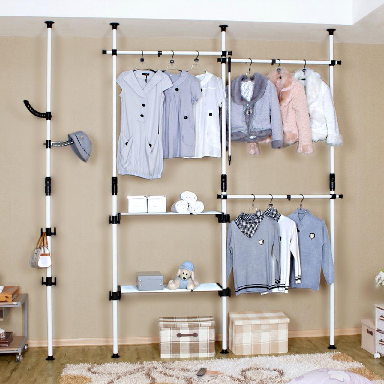 Laundry Room Hanging Rack Ideas 24