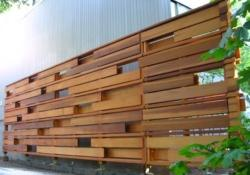 Modern Wood Fence Design Ideas 1