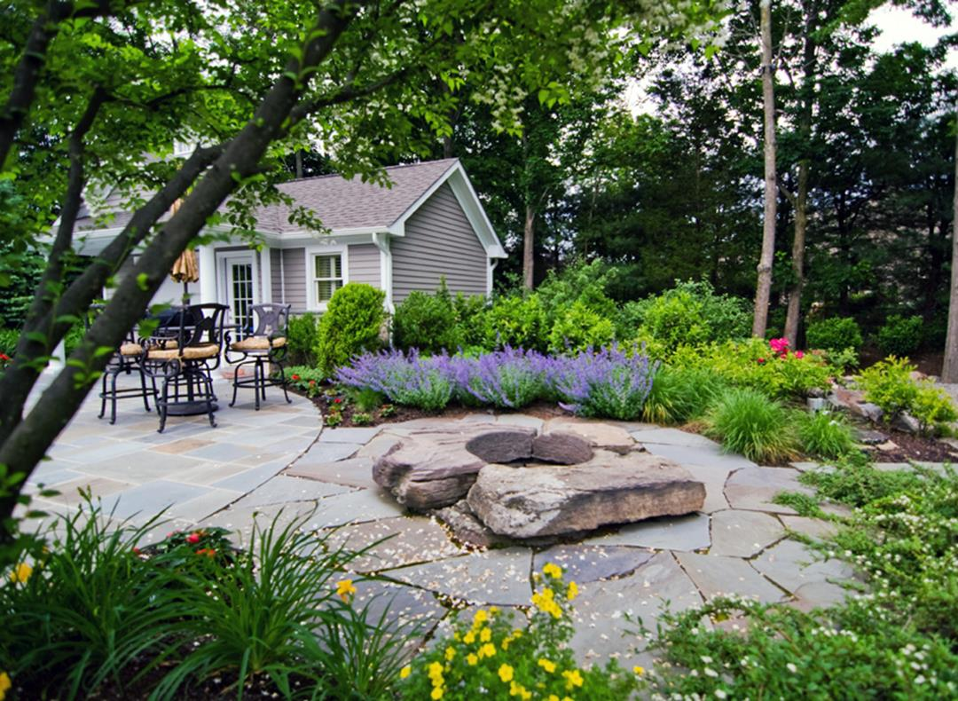 Perfcet Easy Garden Landscaping Design Ideas 30