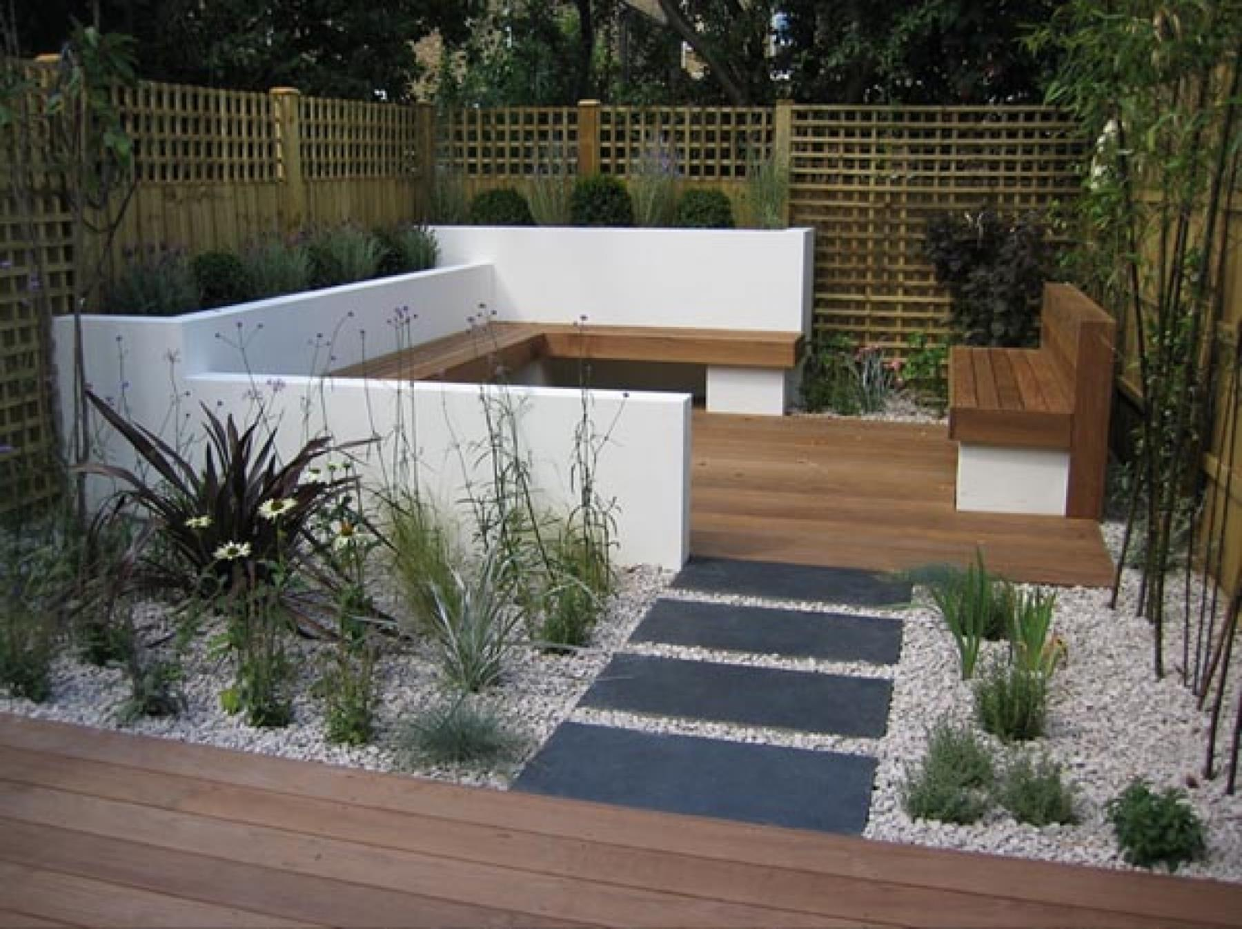 Perfcet Easy Garden Landscaping Design Ideas 8