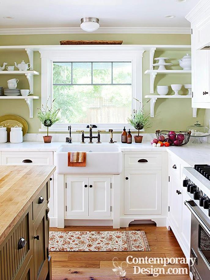 Small Country Kitchens Design and Decor Ideas 10