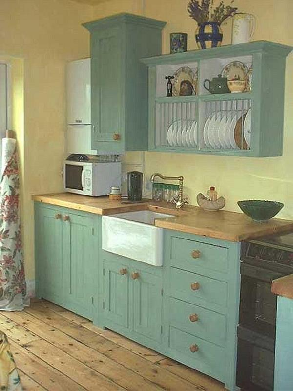 Small Country Kitchens Design and Decor Ideas 21