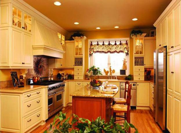 Small Country Kitchens Design and Decor Ideas 31