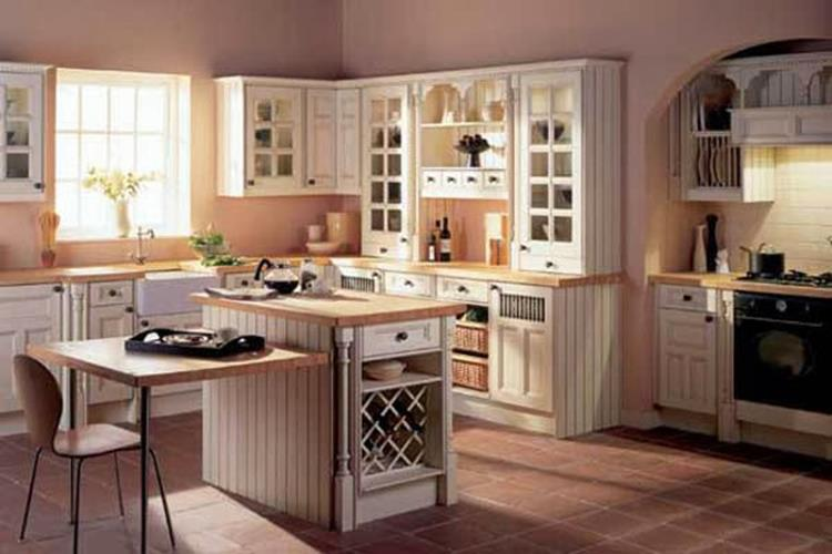 Small Country Kitchens Design and Decor Ideas 33