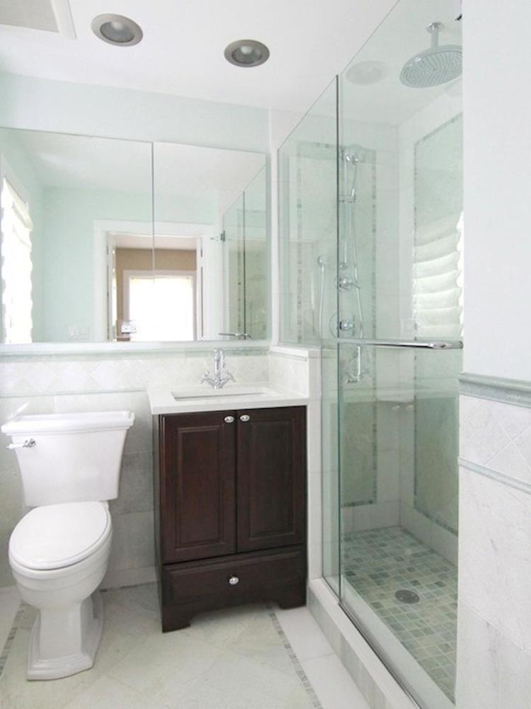 Spa Bathroom Remodel For Small Space 21