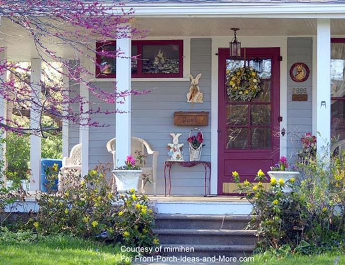Spring Garden Decorating Ideas for Front Porch 15