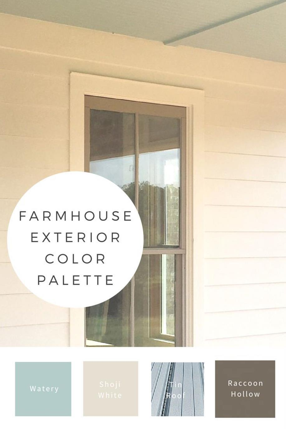 Traditional Farmhouse Interior and Exterior Colors Ideas 6