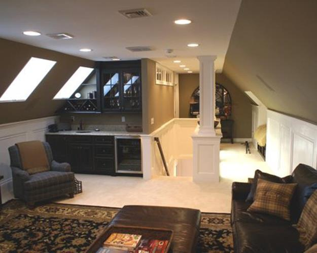 Walk Up Attic Remodeling Ideas 10