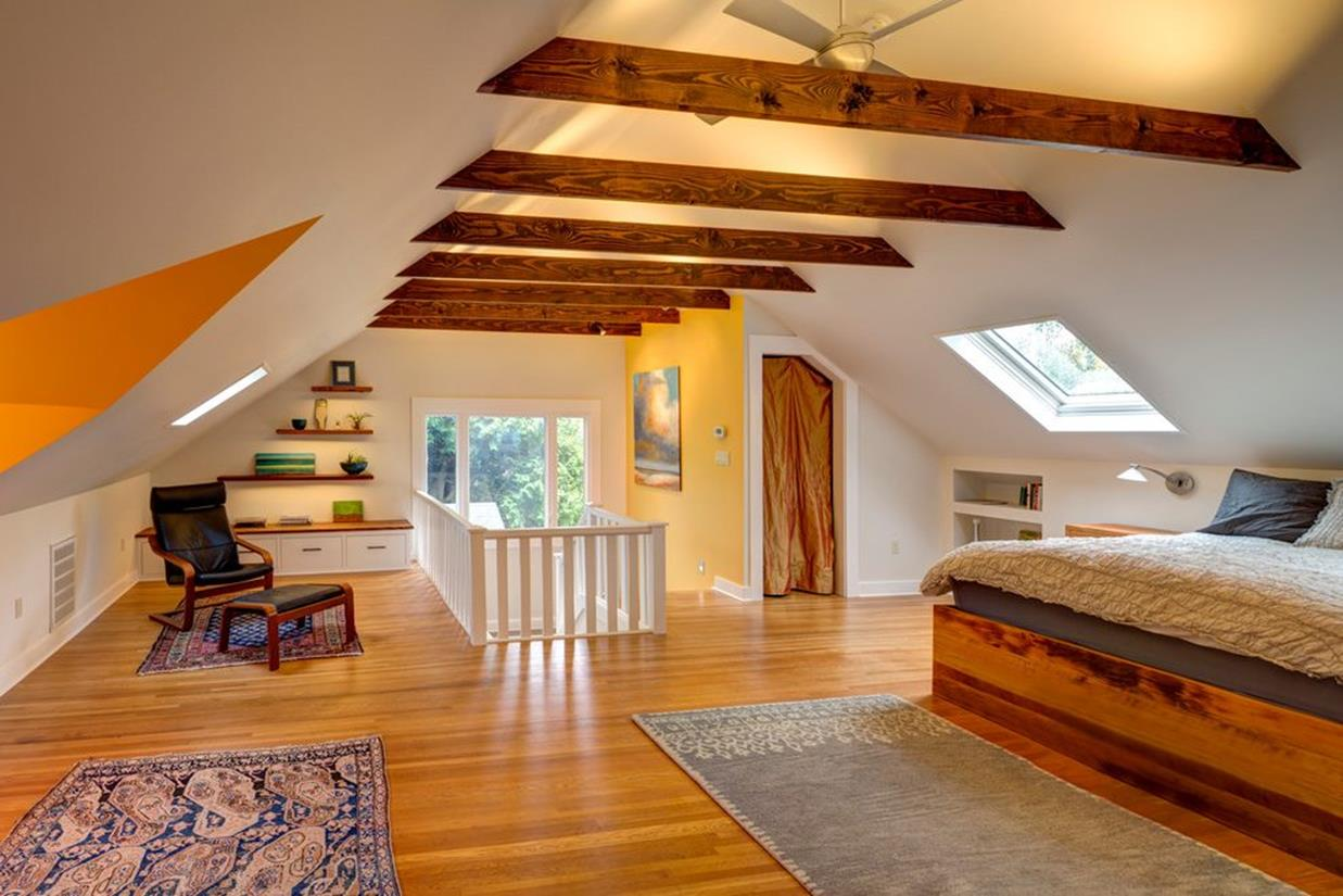 Walk Up Attic Remodeling Ideas 15