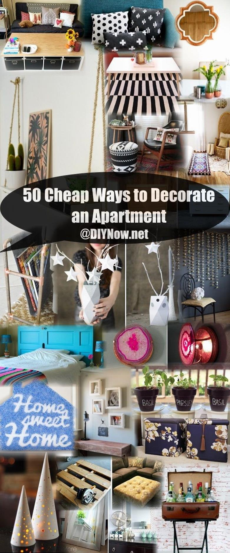 Brilliant Ideas Cheap Ways To Decorate Apartment 34