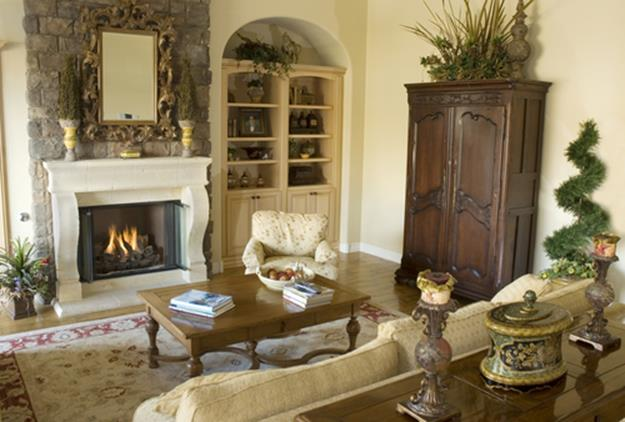 Country Style Living Room Decorating Ideas 12
