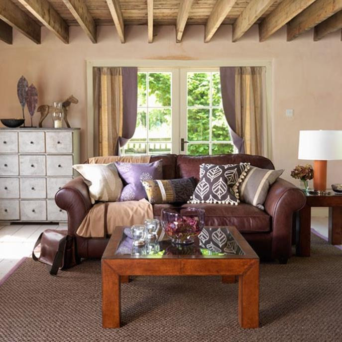 Country Style Living Room Decorating Ideas 14