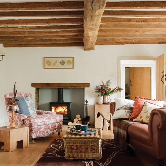 Country Style Living Room Decorating Ideas 15