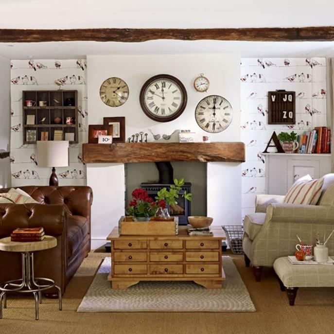 Country Style Living Room Decorating Ideas 16