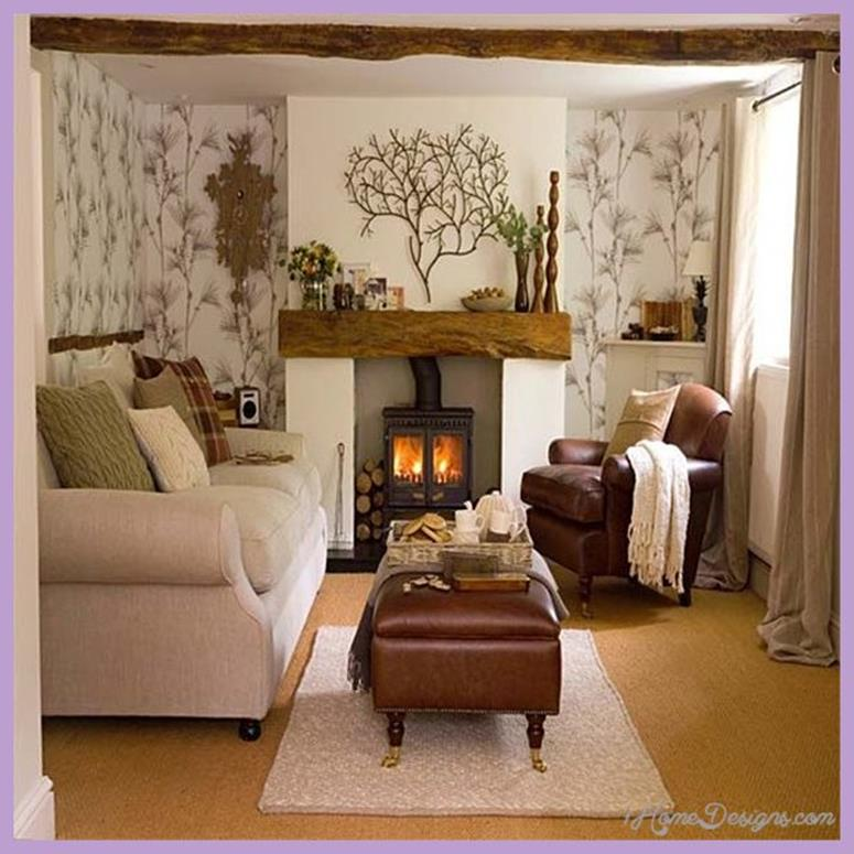 Country Style Living Room Decorating Ideas 18