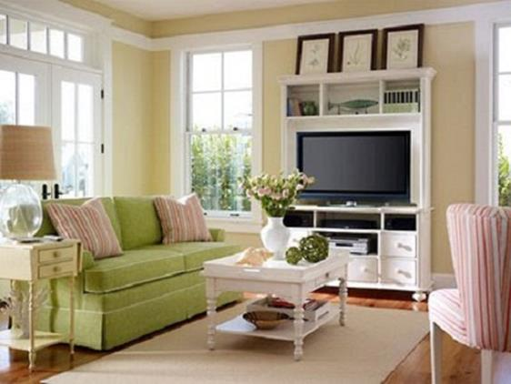 Country Style Living Room Decorating Ideas 21