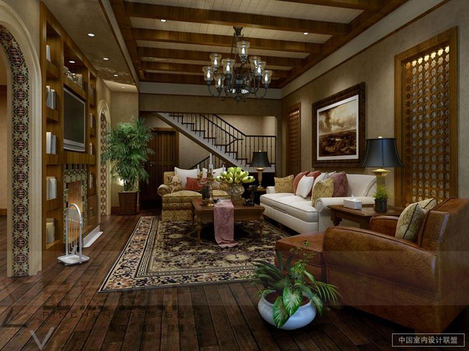 Country Style Living Room Decorating Ideas 22