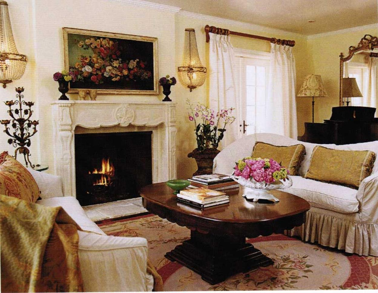Country Style Living Room Decorating Ideas 27