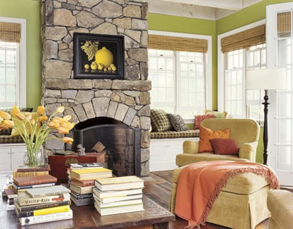 Country Style Living Room Decorating Ideas 33