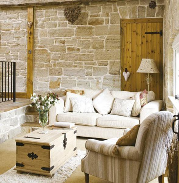 Country Style Living Room Decorating Ideas 35